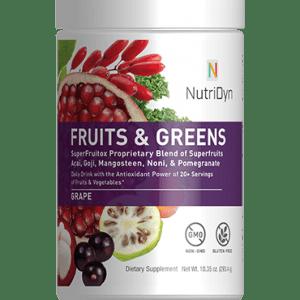 NutriDyn Health Drink Gluten Free Strawberry Cream 33 oz by Nutri-Dyn