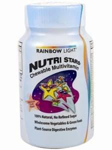 Nutristars Multivitamin 120 chews by Rainbow Light Nutrition