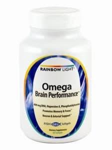 Omega Brain Performance 60 softgels by Rainbow Light Nutrition