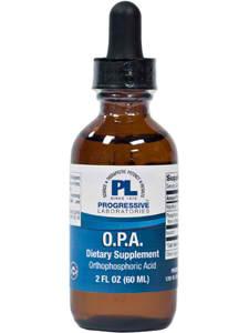 OPA Orthophosphoric Acid 2oz by Progressive Labs