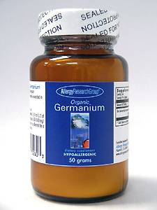Organic Germanium Powder 50 gms by Allergy Research Group