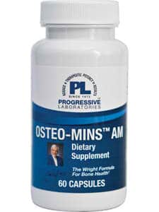Osteo-Mins AM 60c by Progressive Labs