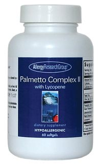 Palmetto Complex II 60sg by Allergy Research Group