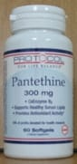 Pantethine 300mg Co-enzyme A 60sg by Protocol