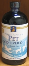 Pet Cod Liver Oil 8 oz by Nordic Naturals
