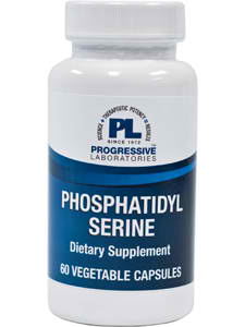 Phosphatidyl Serine 60c by Progressive Labs