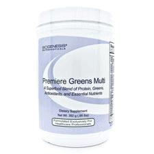 Premiere Greens Multi 392g (.86 Ibs) by Biogenesis