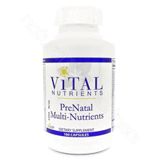 PreNatal Multi 180c by Vital Nutrients