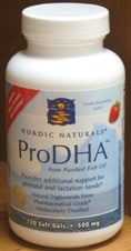 ProDHA Strawberry 120sg by Nordic Naturals