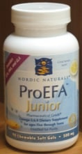 ProEFA Junior 500mg 90sg by Nordic Naturals