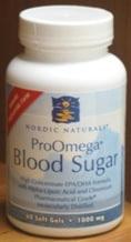 ProOmega Blood Sugar 60sg by Nordic Naturals
