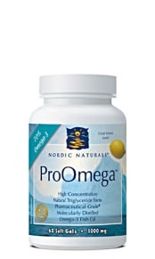 ProOmega Fish Gelatin 60c by nordic naturals