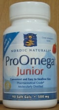 ProOmega Junior/Strawberry 500mg 90sg by Nordic Naturals
