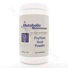 Psyllium Husk Powder [150svg] 454g / 1 lb. by Metabolic Maintenance