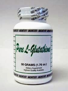 Pure Glutathione Reduced Pwd 50 gms by Montiff