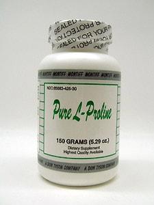 Pure L Proline 150 gms by Montiff