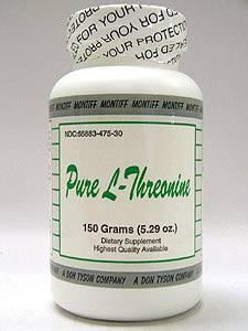 Pure L-Threonine powder 150 gms by Montiff