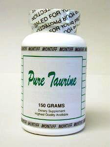 Pure Taurine Powder 150 gms by Montiff