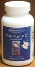 Pure Vitamin C 100c by Allergy Research Group