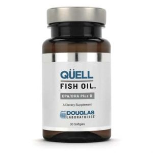 Quell Fish Oil EPA/DHA plus Vitamin D 30sg by Douglas Laboratories