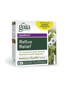 Reflux Relief 12t twin-pack by Gaia Herbs
