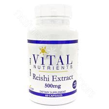 Reishi Mushroom Ext 500mg 60c by Vital Nutrients