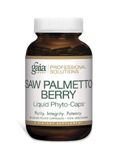 Saw Palmetto 60c by Gaia Herbs/Professional Solutions
