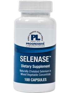 Selenase 100mcg 100c by Progressive Labs