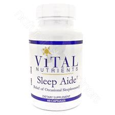 Sleep Aide 60c by Vital Nutrients