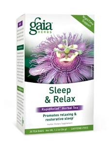Sleep & Relax Tea 20ct by Gaia Herbs