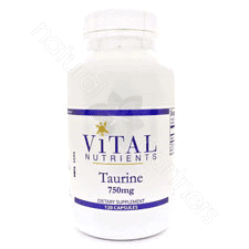 Taurine 1000mg 120c by Vital Nutrients
