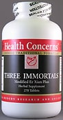 Three Immortals 750 mg 270t by Health Concerns