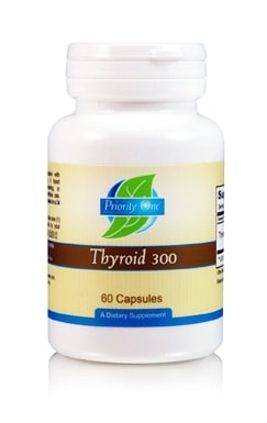 Thyroid 300mg 60c by Priority One