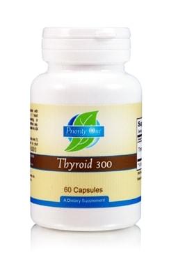 Thyroid 300mg 60c by Priority One