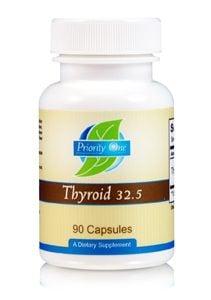 Thyroid 32.5mg 90c by Priority One