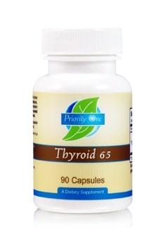Thyroid 65mg 90c by Priority One