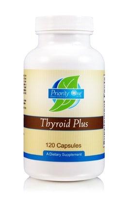Thyroid Plus 120c by Priority One