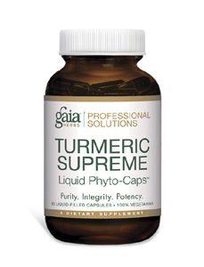 Turmeric Supreme 60c by Gaia Herbs