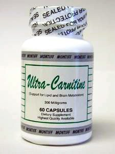 Ultra-Carnitine 300 mg 60 caps by Montiff