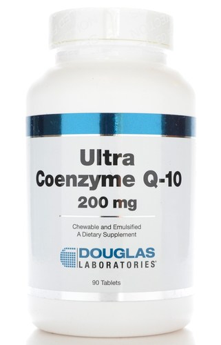 Ultra CoQ10 200mg 90t(chew) by Douglas Laboratories