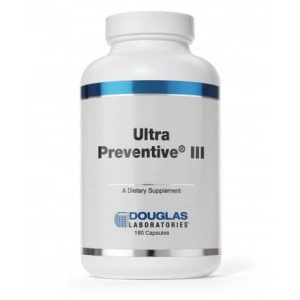 Ultra Preventive III Capsules 180c by Douglas Laboratories