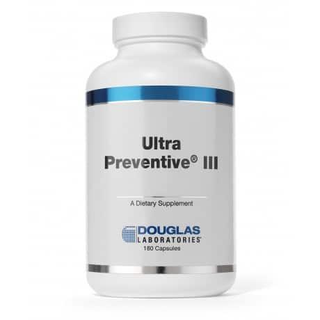 Ultra Preventive III Capsules 180c by Douglas Laboratories