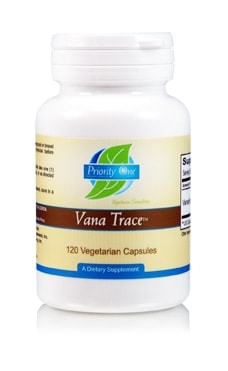 Vana Trace (Vanadyl Sulfate) 50mg 120c by Priority One