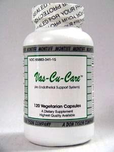 Vas-Cu-Care 120 caps by Montiff