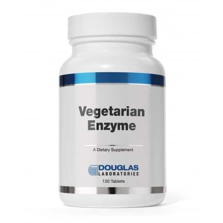 Vegetarian Enzyme 120t by Douglas Laboratories