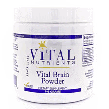Vital Brain Powder 105g by Vital Nutrients
