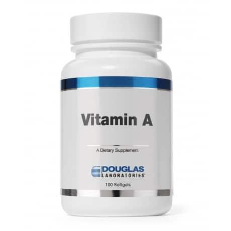 Vitamin A 100sg by Douglas Laboratories