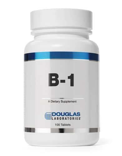 Vitamin B-1 100mg 100t by Douglas Laboratories