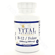 Vitamin B12 w/Folate 100c by Vital Nutrients