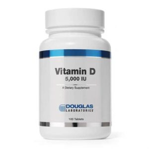 Vitamin D 5000IU 100t by Douglas Laboratories